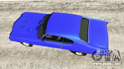 GTA 5 Buick Skylark GSX 1970 vista trasera
