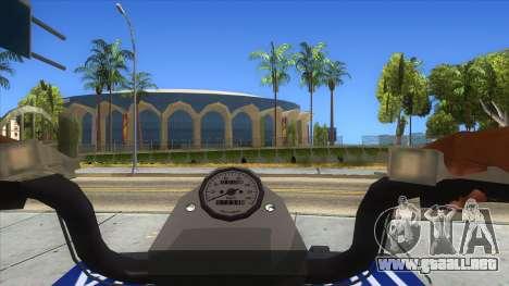 ATV Polaris Police para visión interna GTA San Andreas