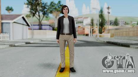 GTA 5 Karen Daniels Biker para GTA San Andreas segunda pantalla