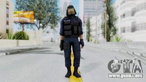 GIGN 1 Masked from CSO2 para GTA San Andreas segunda pantalla