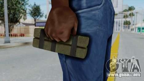 GTA 5 Stickybomb para GTA San Andreas tercera pantalla
