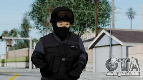 S.W.A.T v3 para GTA San Andreas