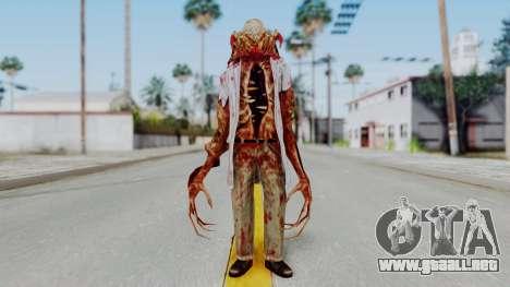 Zombie Scientist Skin from Half Life para GTA San Andreas segunda pantalla