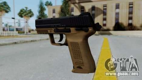 HK45 Sand Frame para GTA San Andreas segunda pantalla