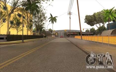 El trabajo de reparación de la Calle Grove para GTA San Andreas quinta pantalla