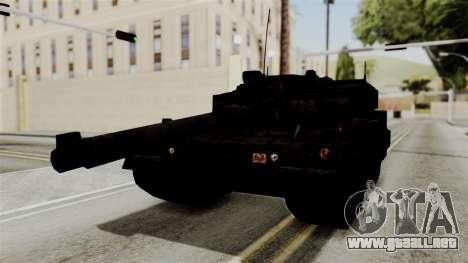 Point Blank Black Panther Rusty para GTA San Andreas