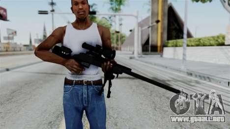 TAC-300 Sniper Rifle para GTA San Andreas tercera pantalla