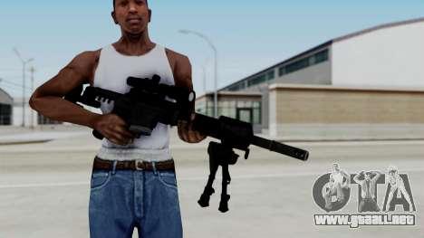 McMillan CS5 para GTA San Andreas tercera pantalla