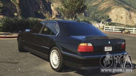 BMW 750i (e38) para GTA 5