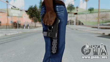 GTA 5 Machine Pistol - Misterix 4 Weapons para GTA San Andreas tercera pantalla