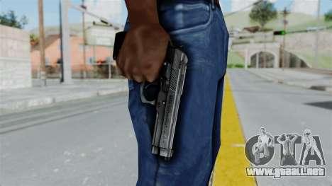 Tariq Iraq Pistol para GTA San Andreas tercera pantalla