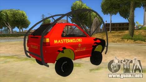 Volkswagen Golf MK2 RollGolf para la visión correcta GTA San Andreas