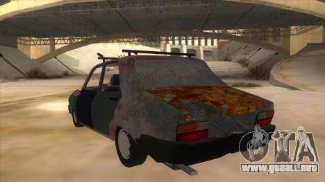 Dacia 1310 Rusty v2 para GTA San Andreas vista posterior izquierda
