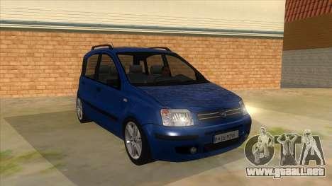 Fiat Panda V3 para GTA San Andreas vista hacia atrás
