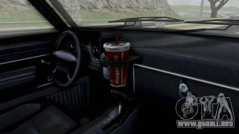 GTA 5 Karin Rebel 4x4 IVF para la visión correcta GTA San Andreas