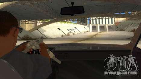 Dacia 1310 Rusty v2 para visión interna GTA San Andreas