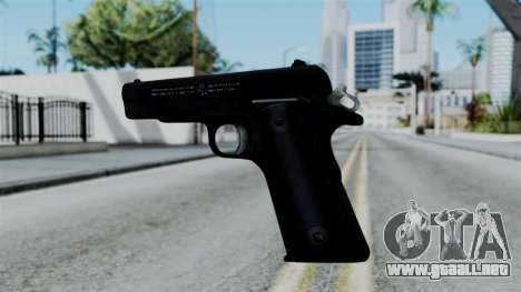 No More Room in Hell - Colt 1911 para GTA San Andreas tercera pantalla