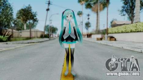 Mamama Api Miku from MMD para GTA San Andreas segunda pantalla