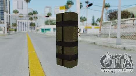 GTA 5 Stickybomb para GTA San Andreas segunda pantalla