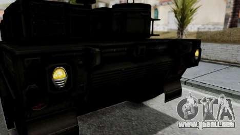 Point Blank Black Panther Woodland IVF para visión interna GTA San Andreas