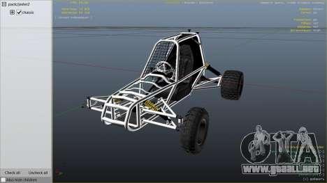 GTA 5 Kart Cross vista lateral derecha