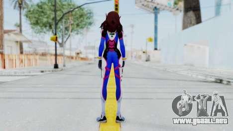 D.VA - Overwatch para GTA San Andreas tercera pantalla