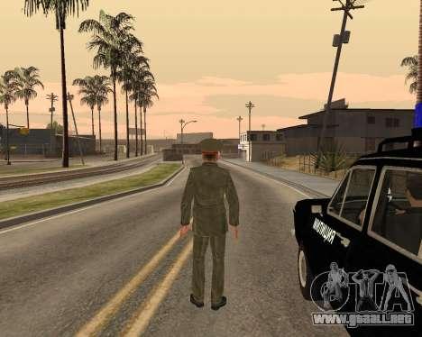 Ejército ruso Skin Pack para GTA San Andreas undécima de pantalla