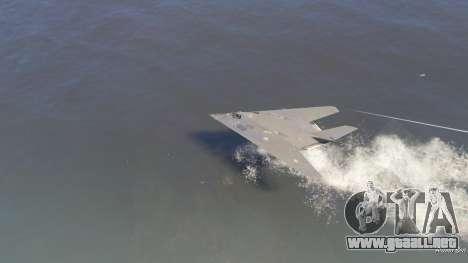 GTA 5 Lockheed F-117 Nighthawk Black 2.0 sexta captura de pantalla