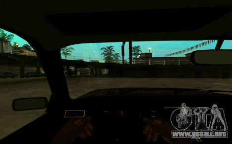 VAZ 2107 Invierno para la visión correcta GTA San Andreas