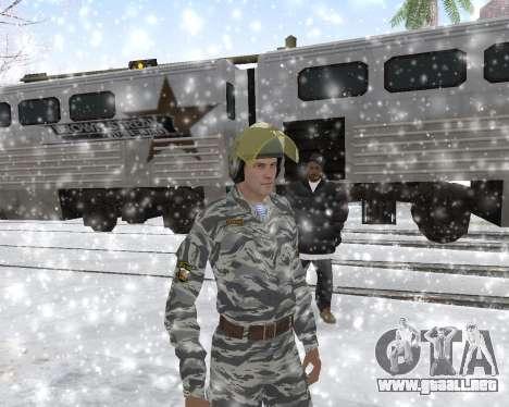 El OMON para GTA San Andreas quinta pantalla