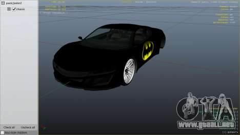 GTA 5 Batman Jester vista lateral derecha