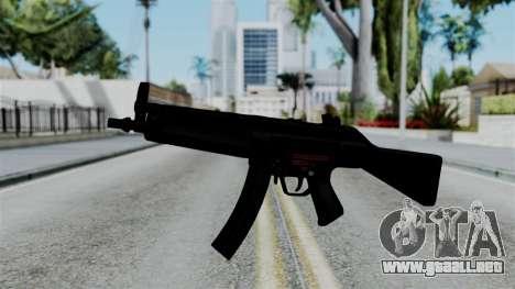 No More Room in Hell - MP5 para GTA San Andreas segunda pantalla