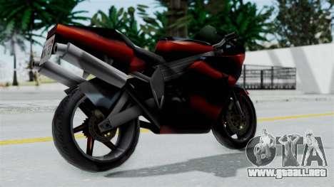 FCR-900 Custom para la visión correcta GTA San Andreas