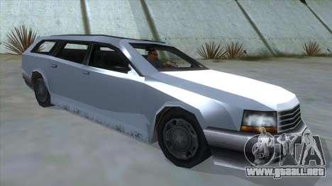 GTA LCS Sindacco Argento para la visión correcta GTA San Andreas
