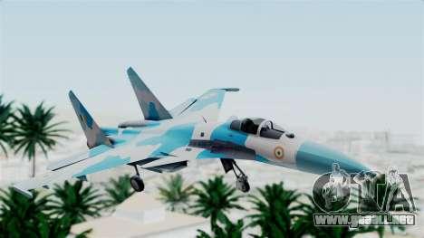 SU-37 Indian Air Force para GTA San Andreas