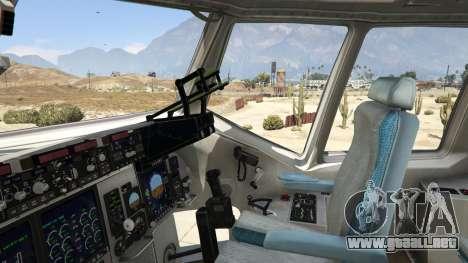 GTA 5 C-17A Globemaster III v.1.1 quinta captura de pantalla