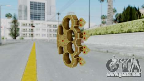 The Player Knuckle Dusters from Ill GG Part 2 para GTA San Andreas