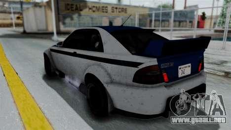 GTA 5 Karin Sultan RS Rally PJ para vista inferior GTA San Andreas