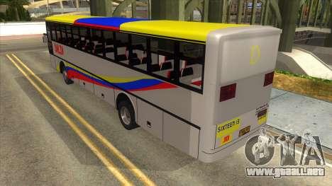 Dalin Ordinary para GTA San Andreas vista posterior izquierda