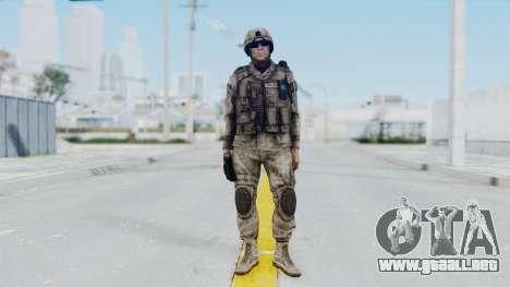 Crysis 2 US Soldier 1 Bodygroup A para GTA San Andreas segunda pantalla