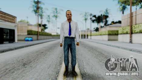 CS 1.6 Hostage B para GTA San Andreas segunda pantalla