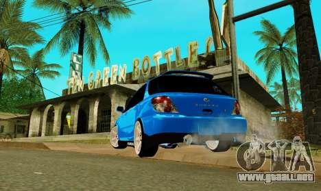 Subaru Impreza WRX STi Wagon 2003 para GTA San Andreas left
