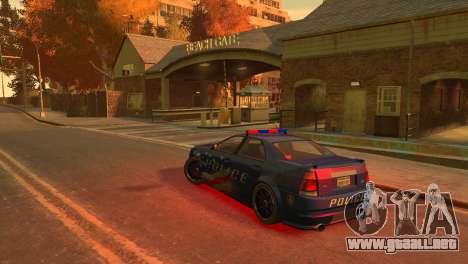 Albany Police Stinger para GTA 4 visión correcta
