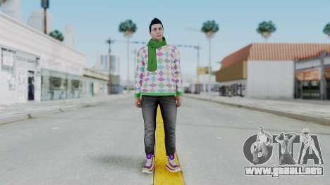 GTA Online Skin (DaniRep) para GTA San Andreas segunda pantalla