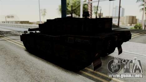 Point Blank Black Panther Rusty para GTA San Andreas left