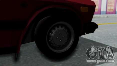 Yugo GV US para GTA San Andreas vista posterior izquierda