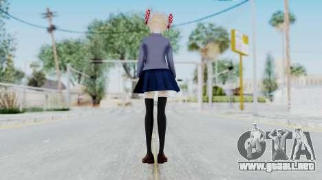 Sakura Chiyo (Gekkan Shoujo) para GTA San Andreas tercera pantalla