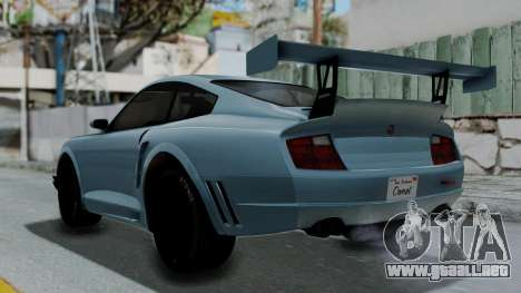 GTA 5 Comet Tuning para GTA San Andreas left
