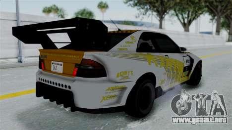 GTA 5 Karin Sultan RS Drift Big Spoiler PJ para el motor de GTA San Andreas