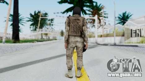 Crysis 2 US Soldier 8 Bodygroup A para GTA San Andreas tercera pantalla